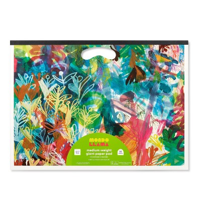 "16""x22"" Medium Weight Giant Paper Pad with Handle - Mondo Llama™"