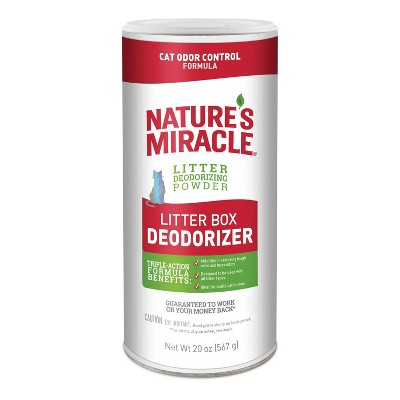 Nature's Miracle Deodorizer Cat Litter Box - 20oz