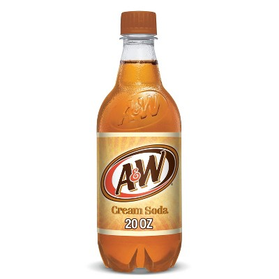 A&W Cream Soda - 20 fl oz Bottle