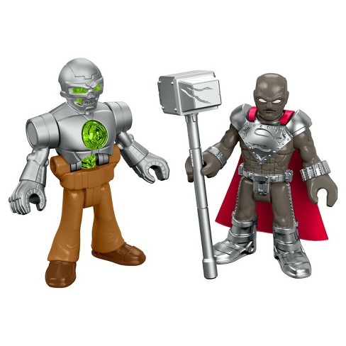 Fisher-Price Imaginext DC Super Friends Steel & Metallo - image 1 of 5