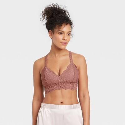 Women's Lace T-Back Bralette - Auden™
