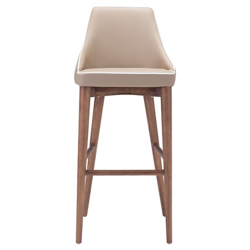 Wing Back Faux Leather 30 Barstool Zm Home Target