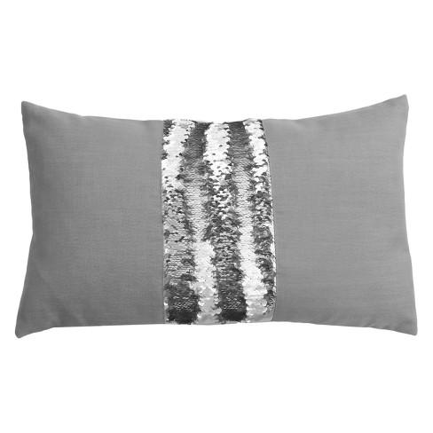 middle stripe mermaid reversible sequin pillow target