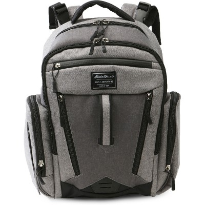 Eddie Bauer Traverse Places & Spaces Back Pack Diaper Bag - Gray