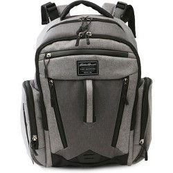 Eddie Bauer Traverse Places & Spaces Back Pack Diaper Bag - Grey