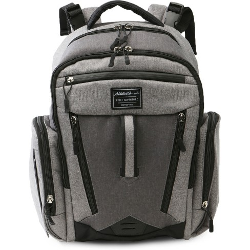Eddie Bauer Traverse Places & Spaces Back Pack Diaper Bag - Gray - image 1 of 4