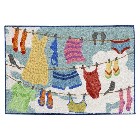 Frontporch Clothes Line Multi Rug - Liora Manne - image 1 of 2