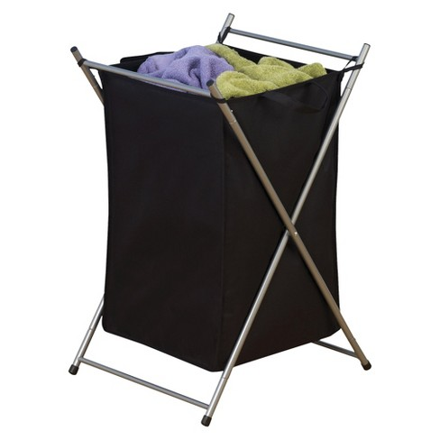 Household Essentials Laundry Hamper On Casters With Removable Bag Target