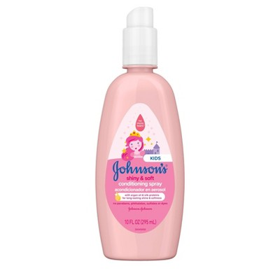 Johnson's Shiny and Soft Conditioning Spray - 10 fl oz