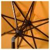 Milan 9' Auto Tilt Crank Umbrella - Safavieh - image 3 of 3
