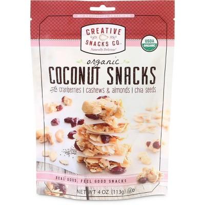 Creative Snacks - Organic Coconut Snacks - 4oz