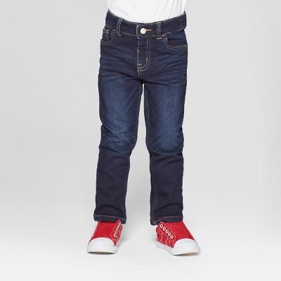 Toddler Boys' Skinny Jeans - Cat & Jack™ Dark Vintage Blue 3T