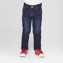 Toddler Boys' Skinny Jeans - Cat & Jack™ Dark Vintage Blue