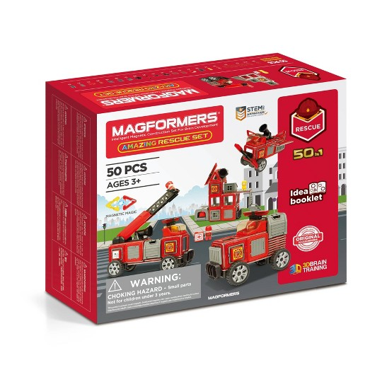 Magformers Amazing Rescue Set image number null