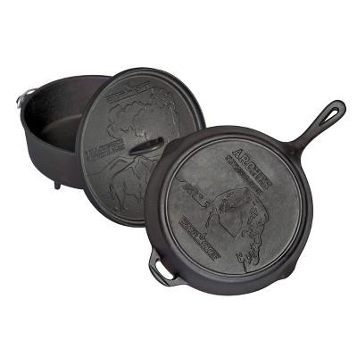 Camp Chef National Parks Cast Iron Set - Black