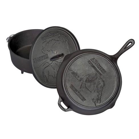 Camp Chef National Parks Cast Iron Set - Black - image 1 of 3