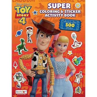 Toy Story 4 Super Sticker Book (Paperback)