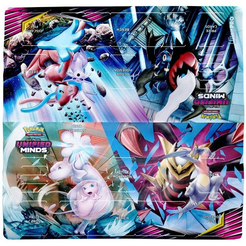 Ultra Pro Pokemon Sun and Moon Card Supplies Unified Minds 2-Player Playmat - image 1 of 1
