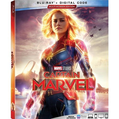 Captain Marvel  (Blu-Ray + Digital) - image 1 of 2