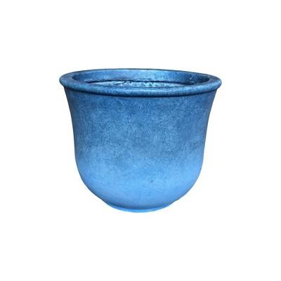Kante Lightweight Modern Vibrant Ombre Concrete Urn Planter - Rosemead Home & Garden, Inc.