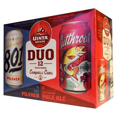 Uinta 801/Cutthroat DUO Pack - 12pk/12 fl oz Cans