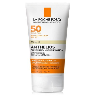 La Roche-Posay Anthelios Mineral Sunscreen Body and Face Sunscreen Lotion - SPF 50 - 4.0 fl oz