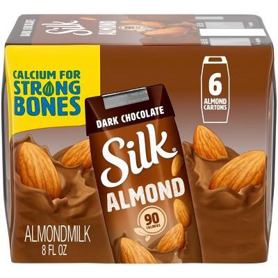 Silk Dark Chocolate Almond Milk 6 Pack