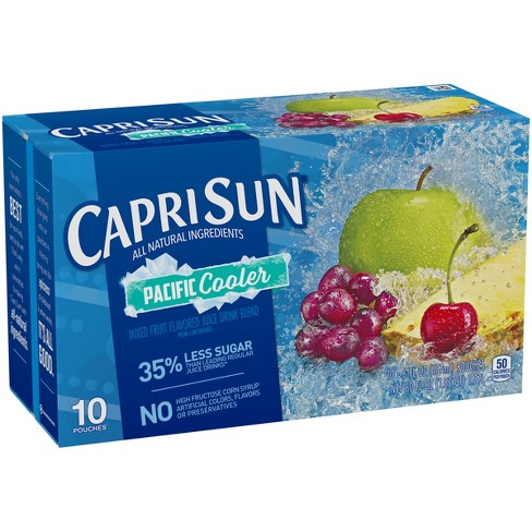 Capri Sun Pacific Cooler Juice Pack - 10pk/6 fl oz Pouches - image 1 of 3