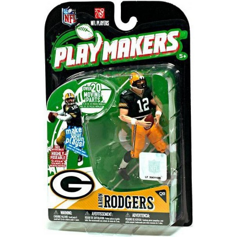 McFarlane Toys NFL Green Bay Packers Playmakers Series 1 Aaron Rodgers Action Figure - image 1 of 1
