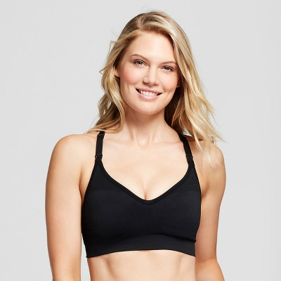 Women's Nursing Wirefree Seamless Bra - Gilligan & O'Malley™ Black - M