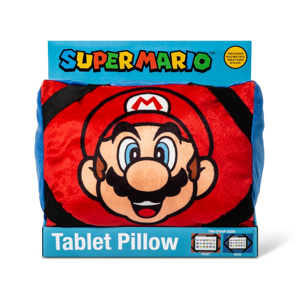 Super Mario Tablet Pillow Red