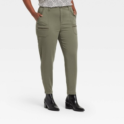 Women's Mid-Rise Utility Ankle Pants - Knox Rose™