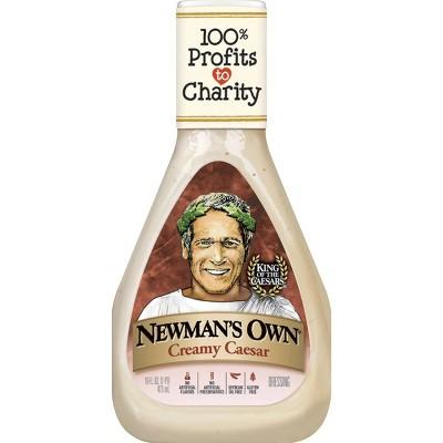 Newman's Own Creamy Caesar Dressing - 16fl oz