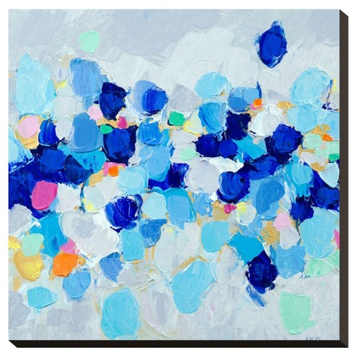 Unframed Wall Canvas Blue 32 X 22 X 2 - Art.com, Multicolored