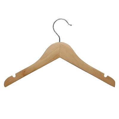 Kid's Basic Shirt Hanger - Maple (10pk)