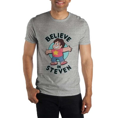 Steven Universe Believe in Steven Message Text Shirt-