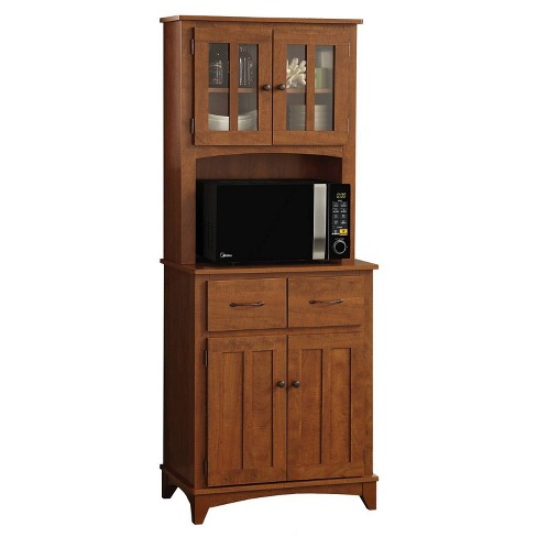 Traditional Microwave Cabinet - Home Source - image 1 of 4