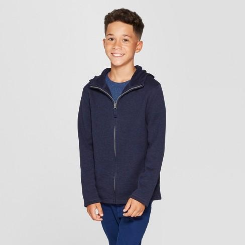 Boys' Cozy Knit Sweatshirt - Cat & Jack™ - image 1 of 3