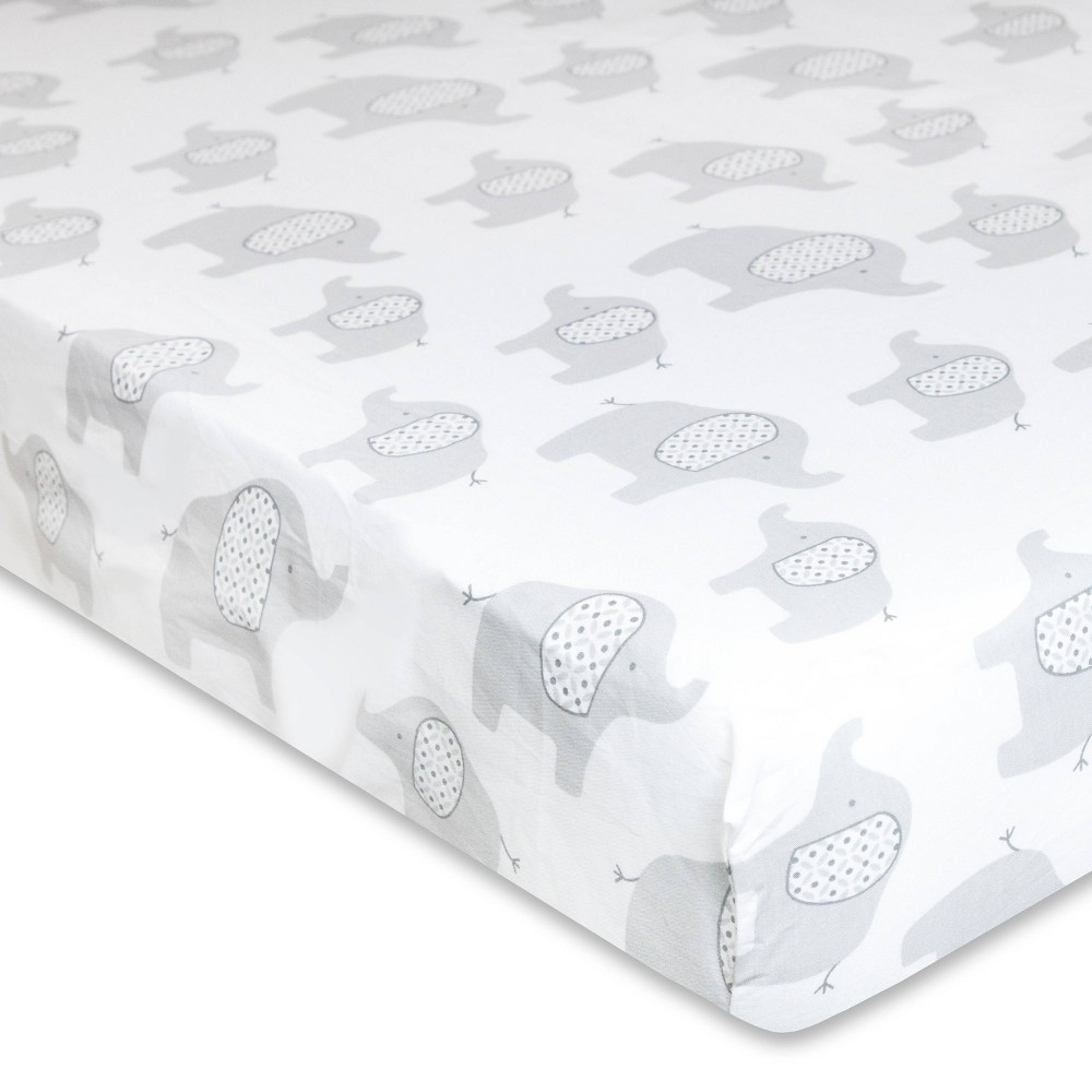 Image of Wendy Bellissimo Elephant Fitted Sheet