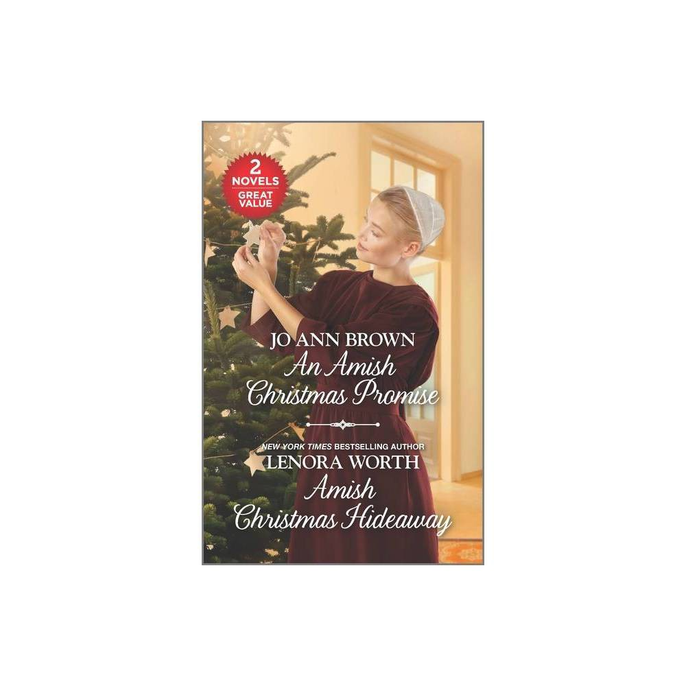 An Amish Christmas Promise And Amish Christmas Hideaway By Jo Ann Brown Lenora Worth Paperback
