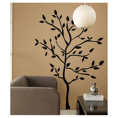 59 TREE BRANCHES Peel and Stick Wall Decal Black - ROOMMATES