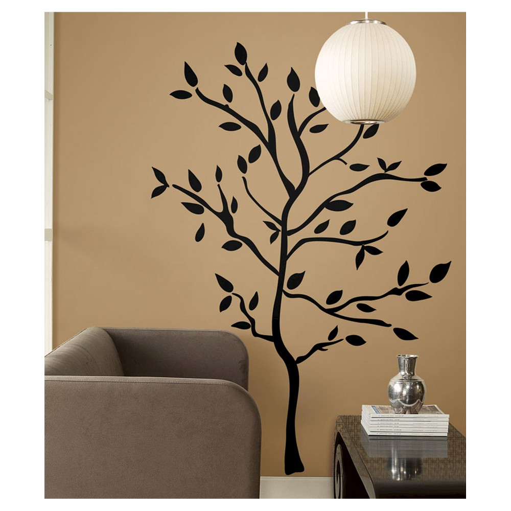 59 Tree Branches Peel And Stick Wall Decal Black Roommates