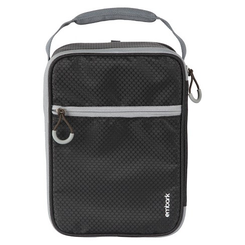 Crush Resistant Lunch Box Black Embark