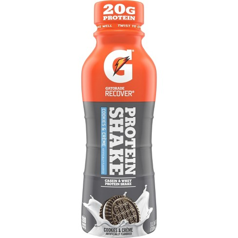 Gatorade Recover Cookies & Cream Protein Shake - 11.16 fl oz Bottle - image 1 of 2