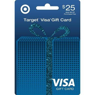 Visa Gift Card - $25 + $4 Fee