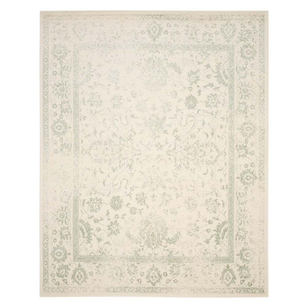 Spacedye Design Area Rug Ivory/Sage