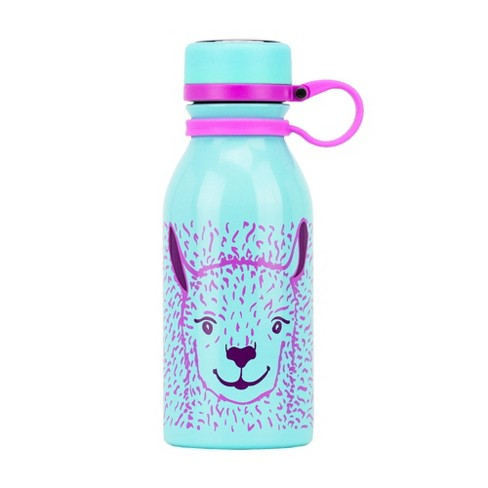 Reduce 14oz Stainless Steel Hydro Pro Llama Bottle Teal - image 1 of 3