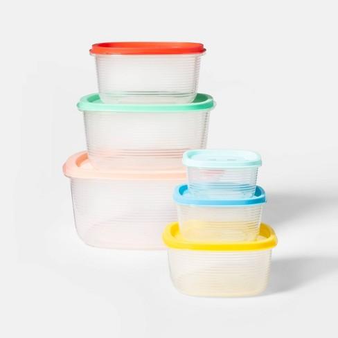6pc Food Storage Container Set - Sun Squad™ - image 1 of 1