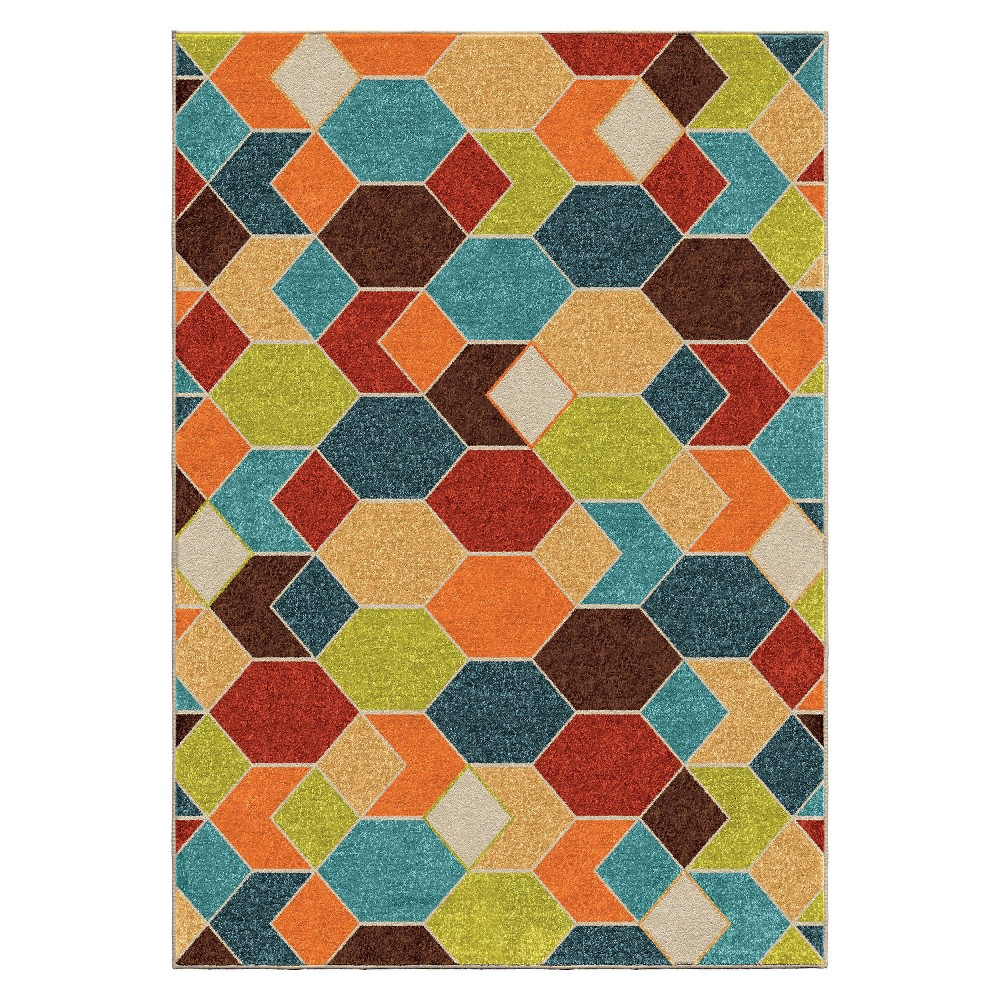 Orian Rugs Spectacle Promise Indoor/Outdoor Area Rug - Multicolor, Multicolored