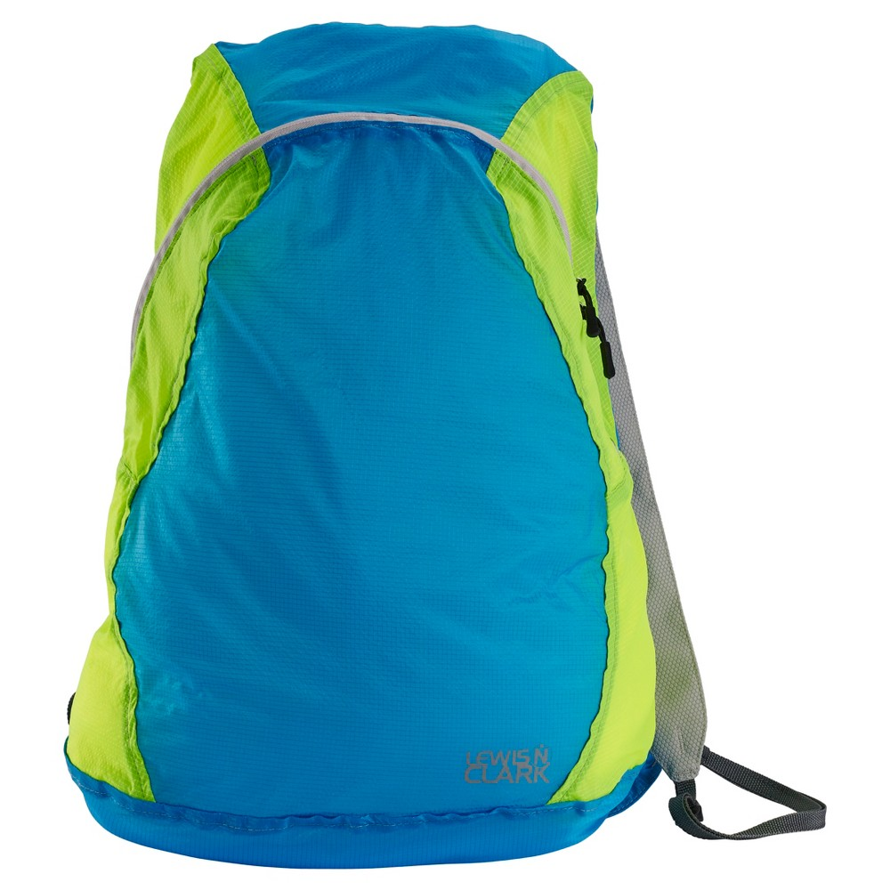 """Image of """"Lewis N. Clark Electrolight 17"""""""" Backpack - Bright Blue/Neon Lemon, Size: Small, Bright Blue/Neon Yellow"""""""